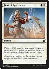 4x Atto di Resistenza - Feat of Resistance MTG MAGIC KTK Khans of Tarkir Eng/Ita