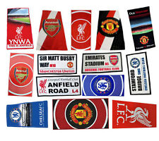 Liverpool / Arsenal / Manchester Utd Official Premier League Bath / Beach Towel