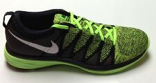 NIKE FLYKNIT LUNAR2 MENS TRAINER ELECTRIC GREEN/BLACK/WHITE **SALE**SALE**
