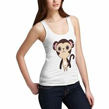 Women's Cute Monkey Funny Animal Tank Top