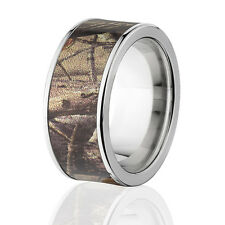 New Realtree AP Camo Rings, Branded Realtree Camo Wedding Band
