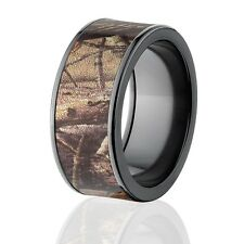 RealTree AP Camo Rings, Camouflage Wedding Rings, Camo Bands
