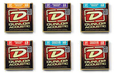DUNLOP ACOUSTIC PHOSPHOR BRONZE GUITAR STRINGS various gauges 6 12 string