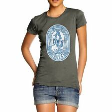 Twisted Envy Women's I Need A Cold Beer 100% Organic Cotton T-Shirt