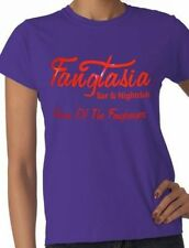 Fangtasia   True Blood  Ladies/Womens T-Shirt In 5 Colours! Size S-XXL