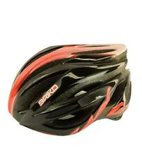 BRIKO Casco ciclismo mountain bike unisex WAVE nero rosso 013578-V3