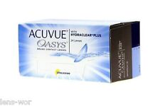 Acuvue Oasys with Hydraclear Plus BC 8.4 und 8.8  1x24 oder 4 x 6