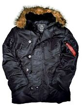 Alpha Industries Parka N3B Black #5267