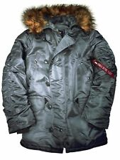 Alpha Industries Parka N3B Grau #5268