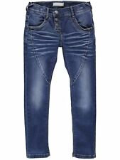 NAME IT coole Boyfriend Jeans Hose Rilia in medium blau Größe 92 bis 164