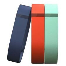 Fitbit FLEX Replacement 3 Pack Accessory Wristbands - Navy Blue, Tangerine, Teal