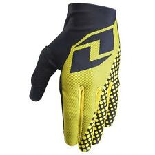 One Industries Vapor Gloves Texture Yellow 2015 - Full Finger Lightweight MTB MX