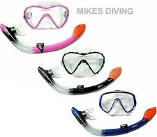 ADULTI DRY TOP SET snorkel DA TBF - TWO BARE FEET - maschera e boccaglio