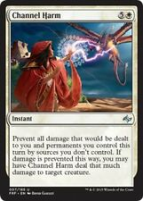 4x Incanalare Danno - Channel Harm MTG MAGIC FRF Fate Reforged Eng/Ita