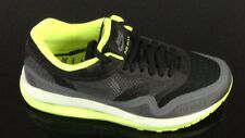 NIKE WOMENS AIR MAX LUNAR 1 TRAINER BLACK-GREY-VOLT **SALE SALE**