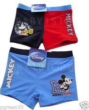 Boys Disney Mickey Mouse Swim Trunks / Swimming Trunks Age 3 4 5 6 7 Years NEW