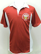 WALES GRAND SLAM  WINNERS 2012 RUGBY STYLE UNISEX SHIRT NEW BIG 3xl  4xl 5xl RED