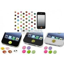 STICKER AUTOCOLLANT BOUTON HOME BUTTON IPAD IPOD TOUCH IPHONE 1 2 3 4 5 G GS S