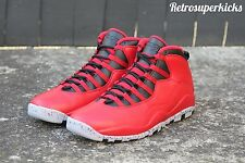 Nike Air Jordan 10 Bulls Over Broadway Red Limited Edition Deadstock