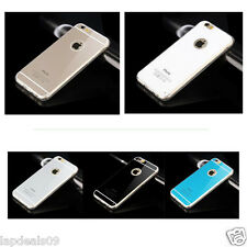 iPhone 6 soft silicone case with shiny coloured finish case with logo see throuh