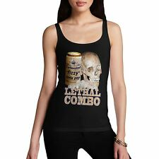 Women Hilarious Design Fashion Print Lethal Combo Tank Top