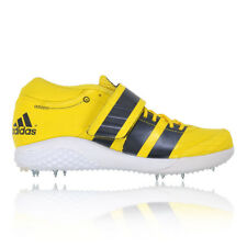 adidas Adizero Javelin 2 Mens Yellow Running Training Track Spikes Sports Shoes