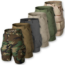 HELIKON BDU SHORTS MENS MILITARY STYLE ARMY CARGO COMBAT RIPSTOP BDU VINTAGE NEW