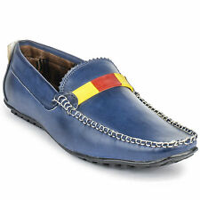 FootnStyle Blue & Yellow Color Loafer For Mens (FS3007)