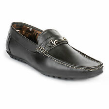 FootnStyle Black Color Loafer For Mens (FS3011)