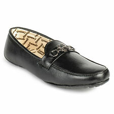FootnStyle Black Color Loafer For Mens (FS3003)