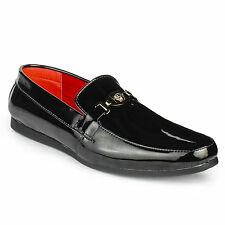 FootnStyle Black Color Loafer For Mens (FS3017)