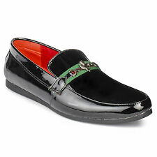 FootnStyle Black Color Loafer For Mens (FS3018)