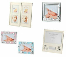 Beautiful Silver Metal Baby Boy/Girl Photo Frame,Cute,Elegant, Perfect Gift-