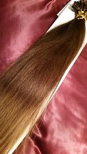 "22""NAIL TIP/U TIP 1G #2/12 DIP/DYE OMBRE 5Agrade HUMAN HAIR EXTENSIONS UK DEL"