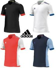 Mens Adidas Climalite Polo Training Gym Football T Shirt Top - S M L XL XXL
