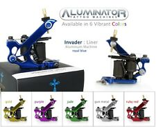 Aluminator INVADER 8-Wrap LINER SHADER Tattoo Machine Supply 6 Colors Available