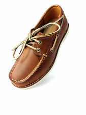 Timberland Youth Seabury 2-Eye Classic Boat Leather Shoes Tan Light 1080A/ 1070A
