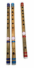 "Beginners To Professional Indian Bamboo Flute Bansuri 13"" _14"" Transverse Flute"
