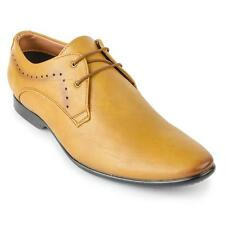 Foot n Style Tan Leather Formal Shoe For Men (fs3094)