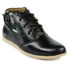 Foot n Style Black Leather Casual Shoes Shoe For Men (fs3115)