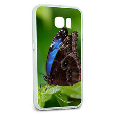 Protective Slim Hybrid Rubber Bumper Case for Galaxy S6 Butterfly Insect Designs