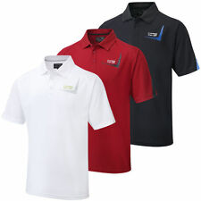 2015 Cypress Point Mens CoolPass Performance Plain New Logo Polo Shirt Tour Golf