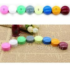 1pc 2.7cm Nail Art Stamping Tampon Round Vernis à Ongle  Manucure vives couleurs