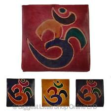NEW Kids Childrens Girls Leather OM Coin Purse Gift Handcrafted Religion Handy