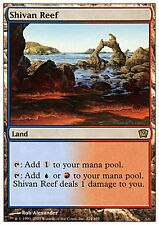 Barriera di Shiv - Shivan Reef MTG MAGIC 9E 9th Edition Eng/Ita