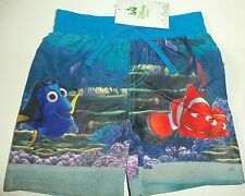 Baby Boys Swim Shorts with Disney Finding Nemo / Dory Fish detail