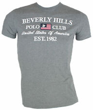 T-shirt uomo Beverly Hills Polo Club mod.BHPC0143  grigio