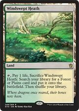 FOIL Landa Ventosa - Windswept Heath MTG MAGIC KTK Khans of Tarkir Eng/Ita