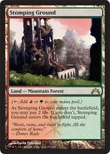 FOIL Terreno Calpestabile - Stomping Ground MTG MAGIC GP Guildpact Eng/Ita