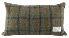 Harris Tweed Rectangular Cushion Choice of 4 Different Authentic Tweed Patterns